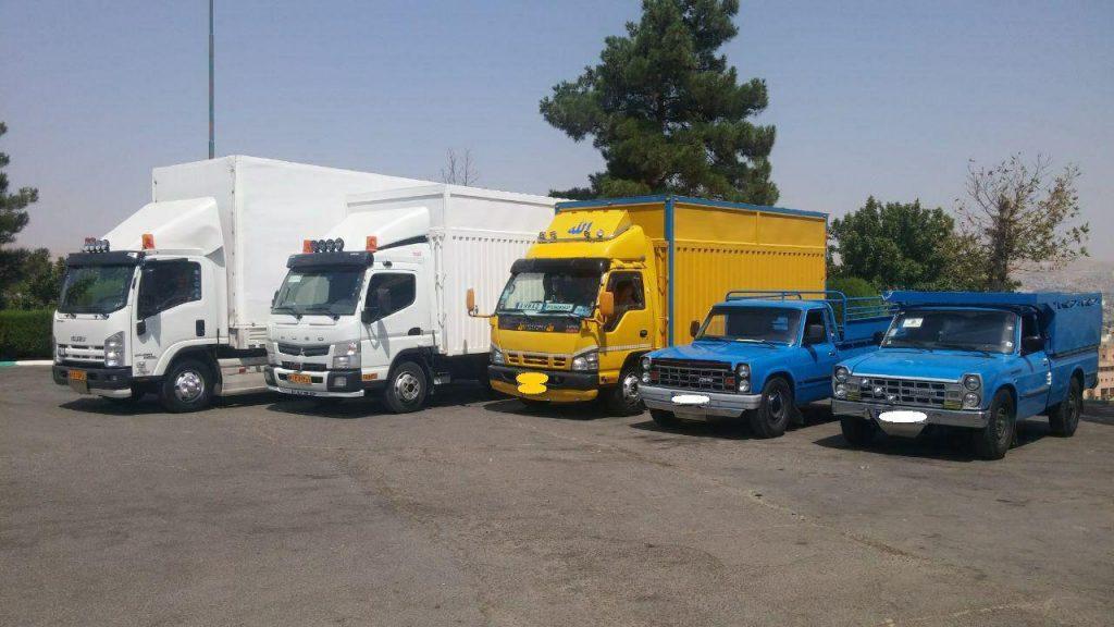 حمل بار در تهران